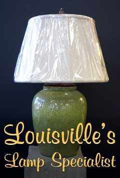 Green Lamp Whimsical Lamps